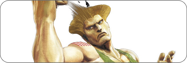 Guile Ultra Street Fighter 4 artwork