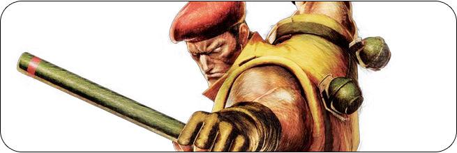 Rolento Ultra Street Fighter 4 artwork
