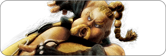 Rufus Ultra Street Fighter 4 artwork
