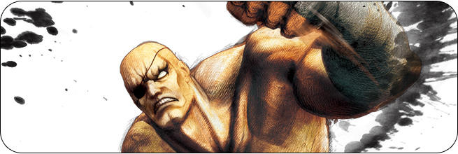 Sagat Ultra Street Fighter 4 artwork