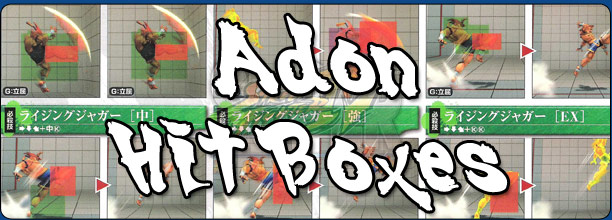Abel's hit box information Super Street Fighter 4 Arcade Edition