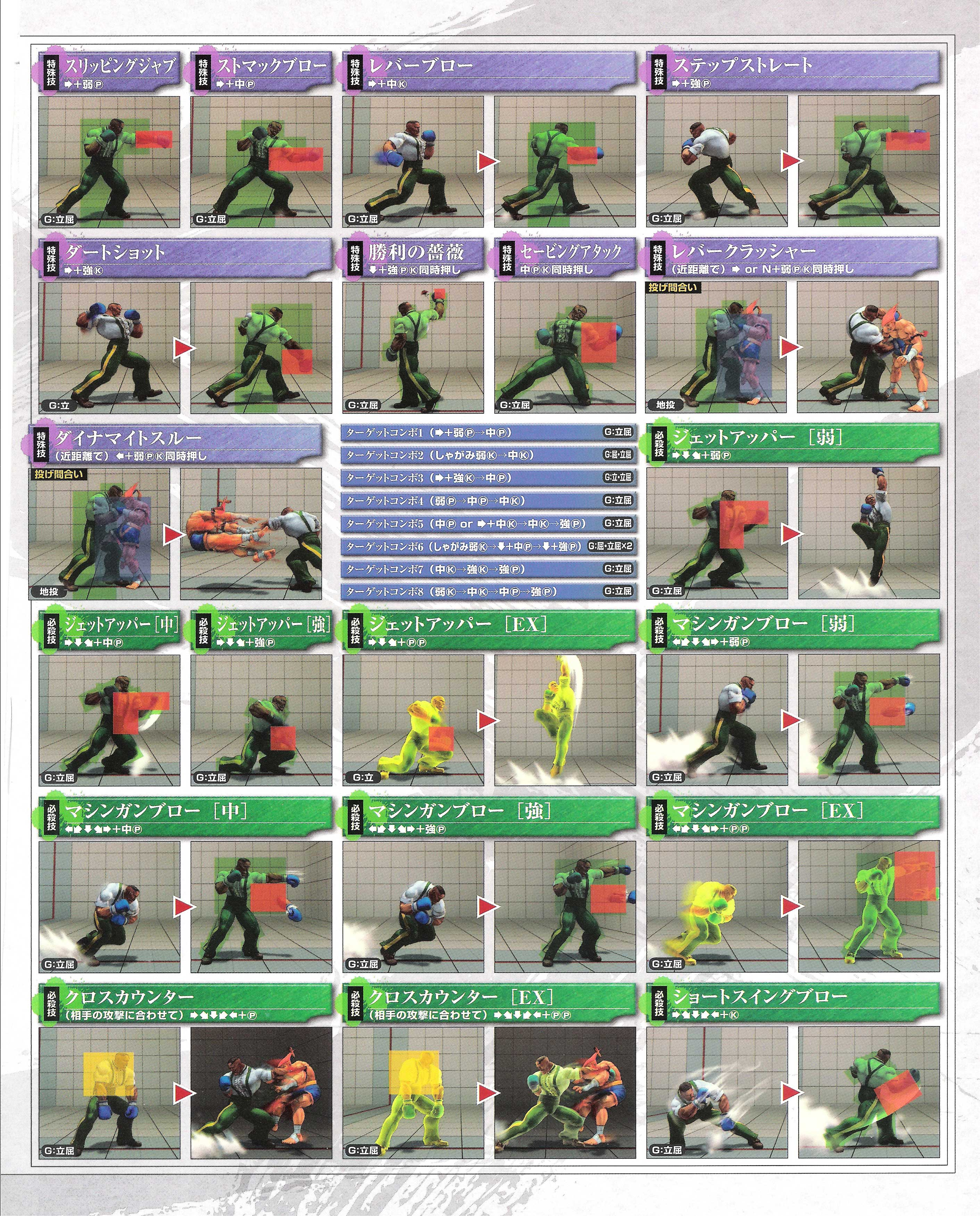 Dudley's hit box information for Super Street Fighter 4 Arcade Edition image #2