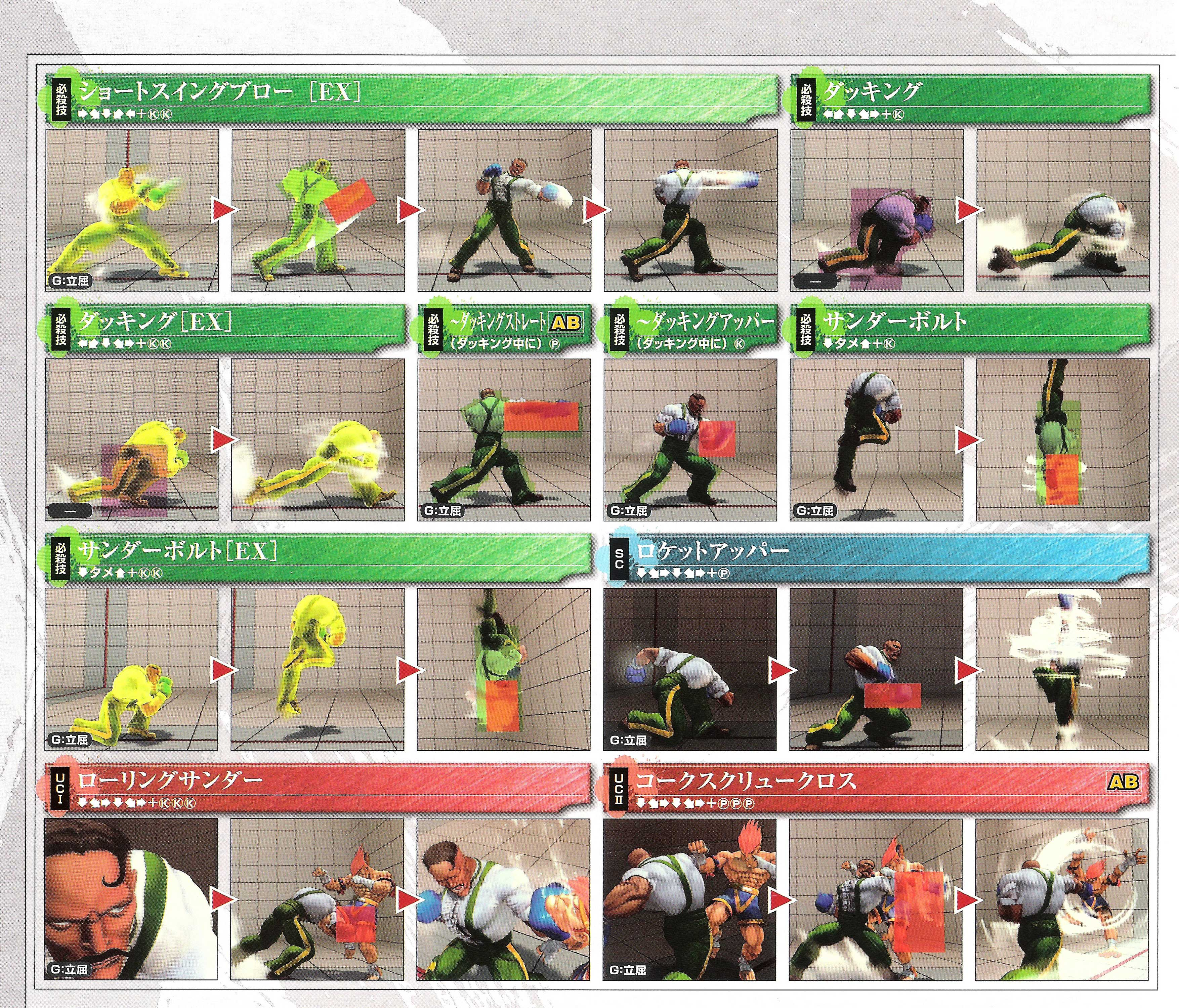 Dudley's hit box information for Super Street Fighter 4 Arcade Edition image #3