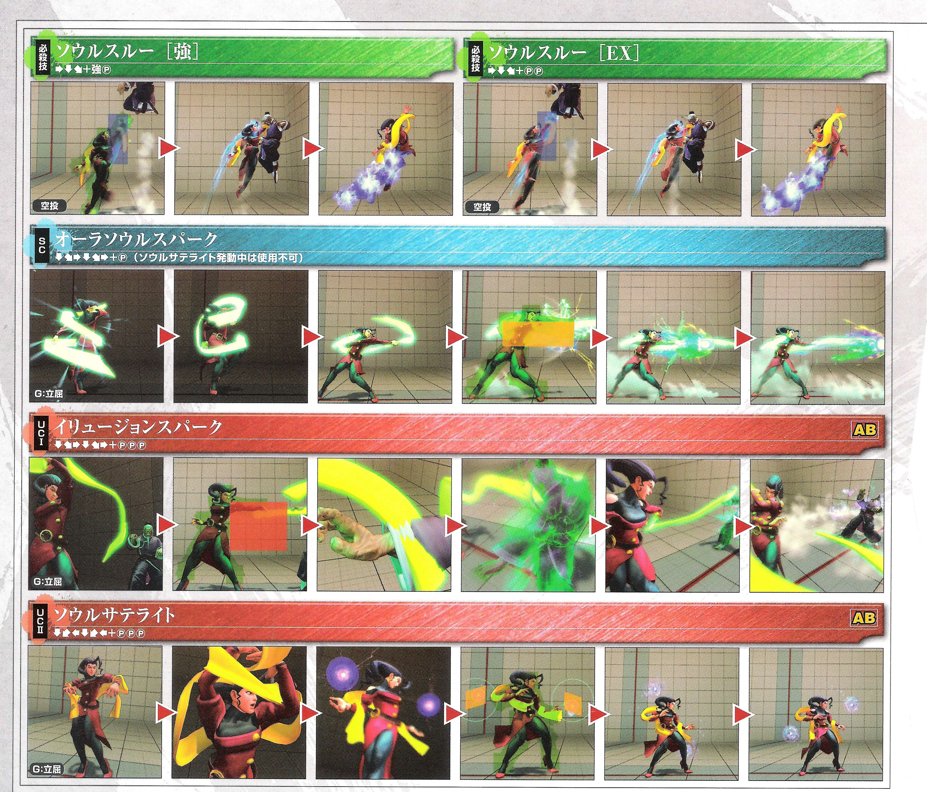 Rose's hit box information for Super Street Fighter 4 Arcade Edition image #3
