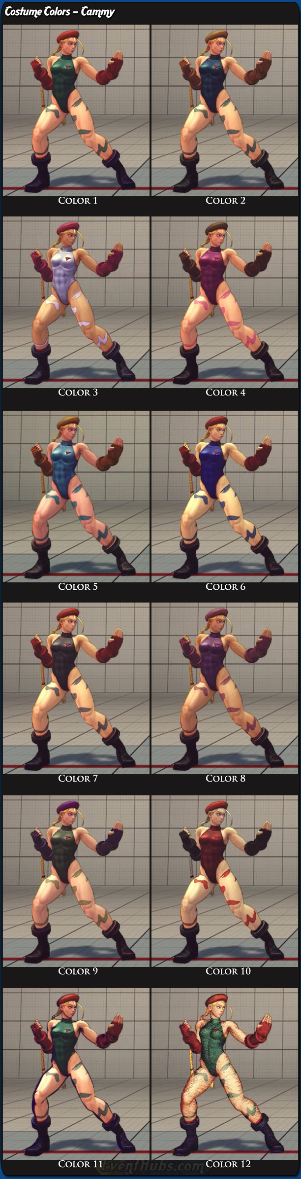 how to play cammy sf4