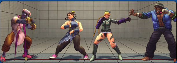 Super Street Fighter 4 Throw Range Comparisons