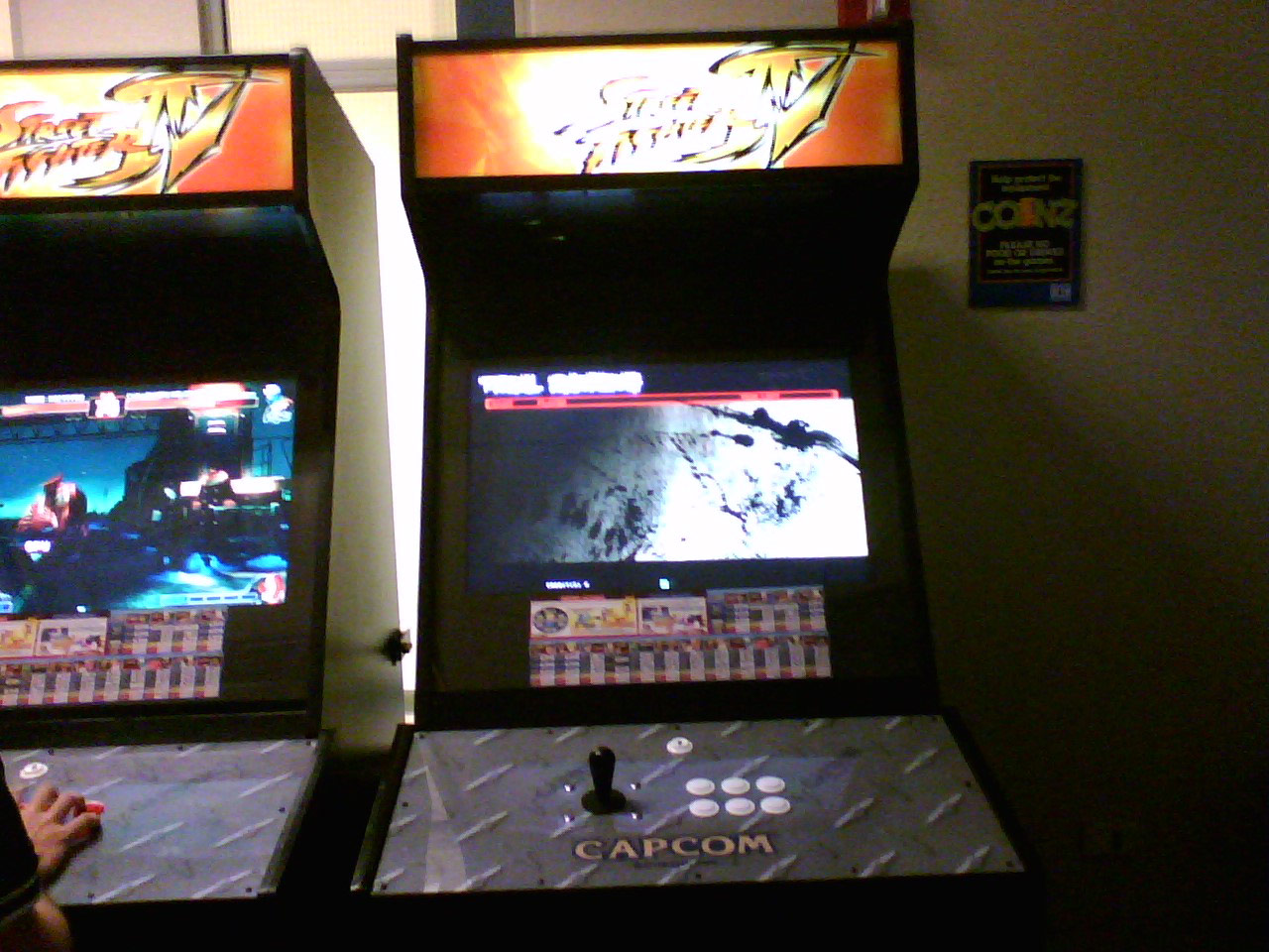 Street Fighter 4 Arcade Machine Location Tracker