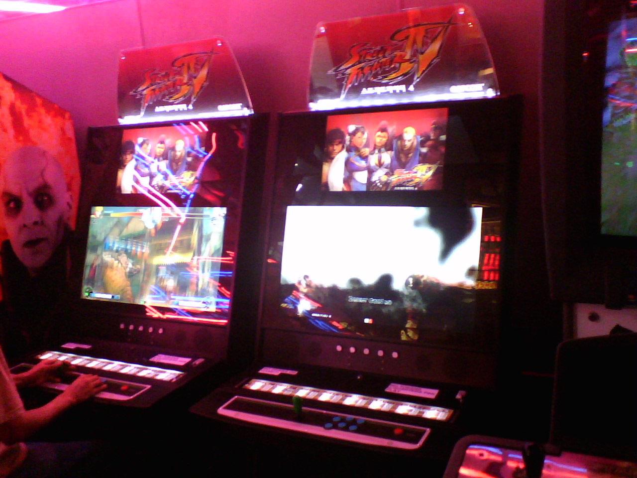 Street Fighter 4 Arcade Machine Location Tracker