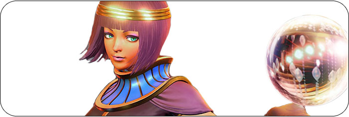 Menat Street Fighter 5: Arcade Edition artwork