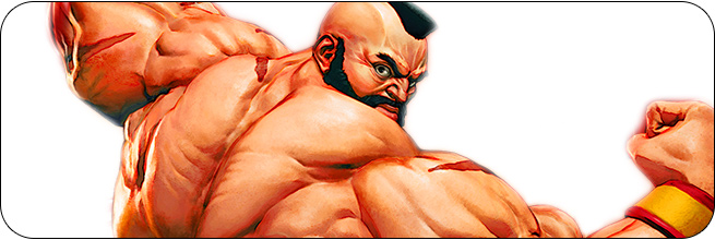 Zangief Street Fighter 5: Arcade Edition artwork