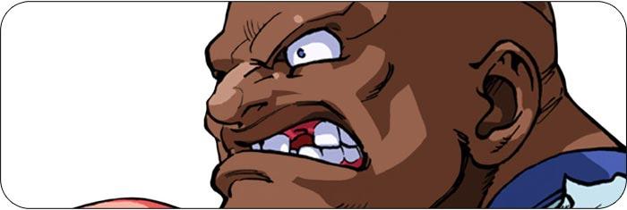 Balrog Street Fighter Alpha 3 artwork