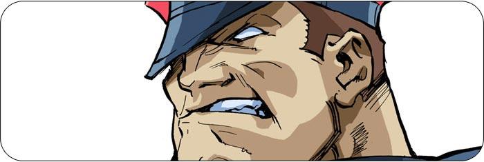 M. Bison Street Fighter Alpha 3 artwork