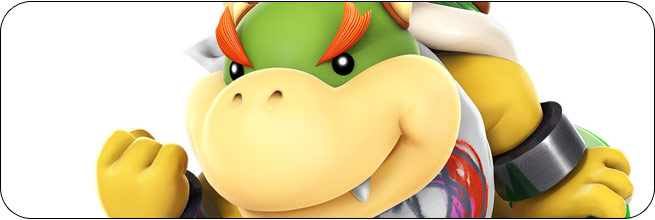 Bowser Jr. Super Smash Bros. 4 artwork