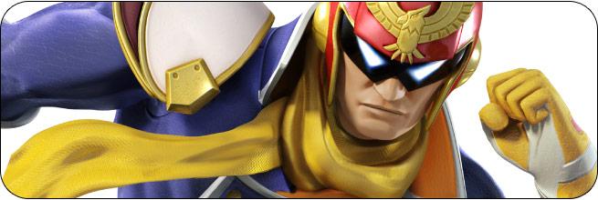 Captain Falcon Super Smash Bros. 4 artwork