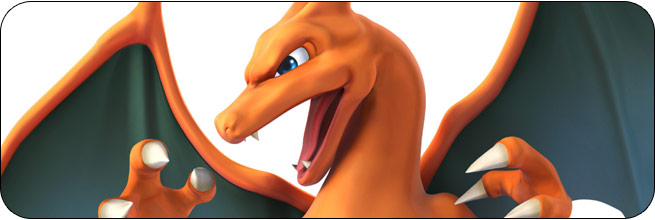 Charizard Super Smash Bros. Wii U artwork