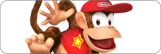 Diddy Kong Super Smash Bros. 4 moves, tips and combos
