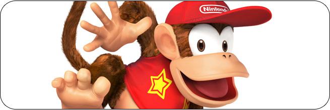 Diddy Kong Super Smash Bros. 4 artwork