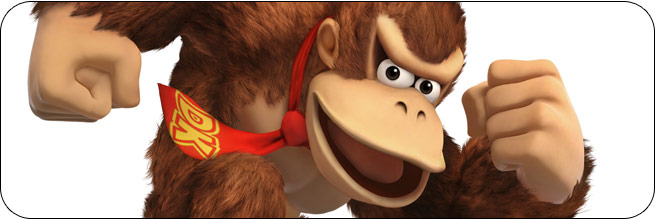 Donkey Kong Super Smash Bros. 4 artwork