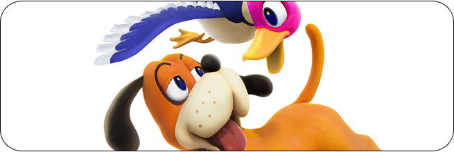 Duck Hunt Super Smash Bros. 4 artwork