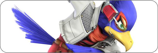 Falco Super Smash Bros. 4 artwork