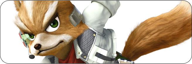 Fox Super Smash Bros. 4 artwork