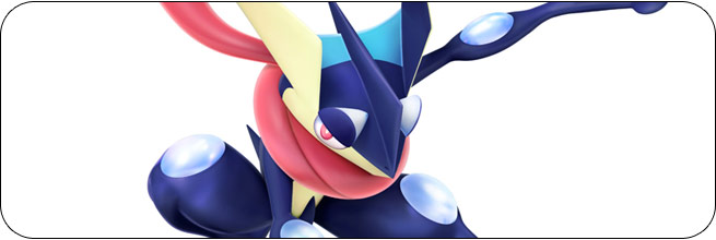 Greninja Super Smash Bros. 4 artwork