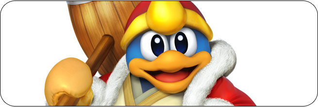 King Dedede Super Smash Bros. 4 artwork