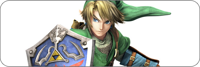 Link Super Smash Bros. 4 artwork