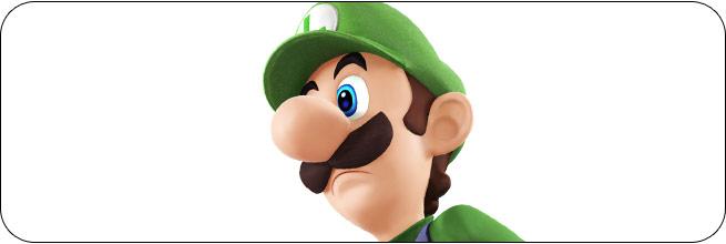 Luigi Super Smash Bros. 4 artwork