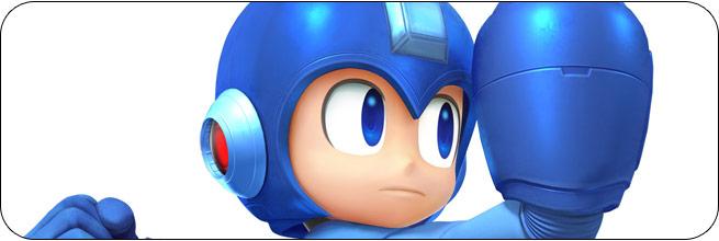 Mega Man Super Smash Bros. 4 artwork