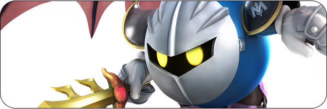 Meta Knight Super Smash Bros. 4 artwork