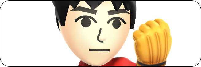 Mii Brawler Super Smash Bros. 4 artwork