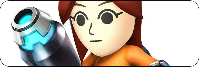 Mii Gunner Super Smash Bros. 4 artwork