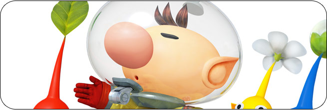 Olimar Super Smash Bros. 4 artwork