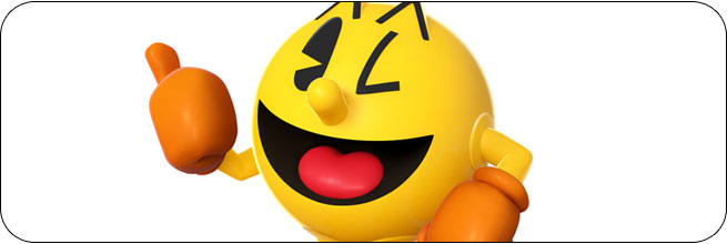 Pac-Man Super Smash Bros. 4 artwork