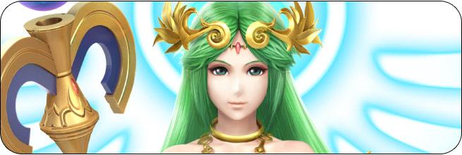 Palutena Super Smash Bros. 4 artwork