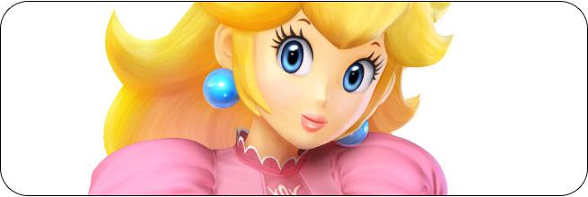 Peach Super Smash Bros. 4 artwork