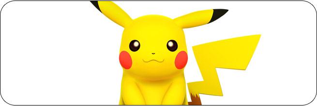 Pikachu Super Smash Bros. 4 artwork