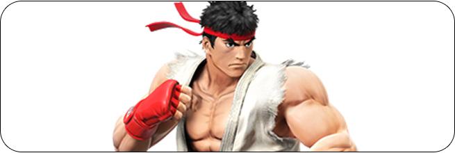 Ryu Super Smash Bros. 4 artwork