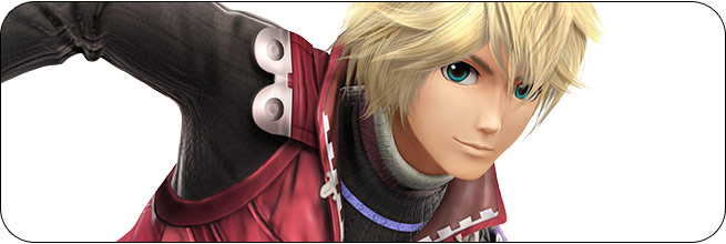 Shulk Super Smash Bros. 4 artwork