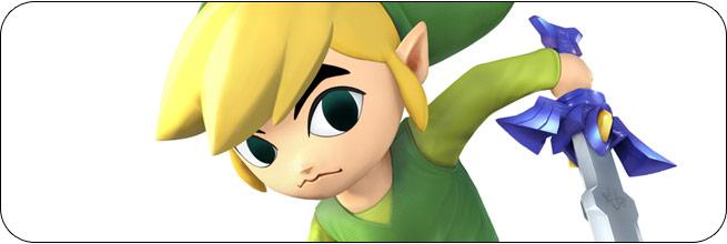 Toon Link Super Smash Bros. 4 artwork