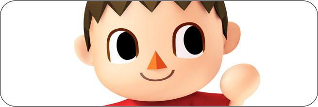 Villager Super Smash Bros. 4 artwork