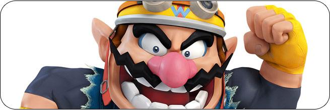 Wario Super Smash Bros. 4 artwork