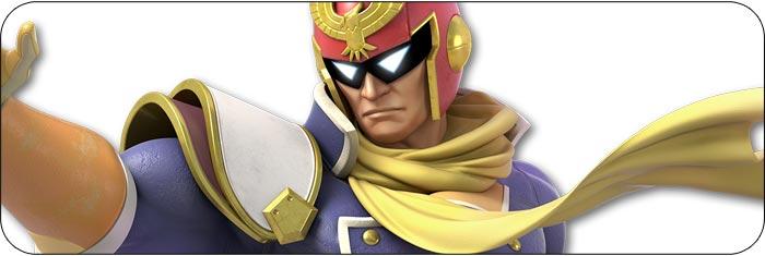 Captain Falcon Super Smash Bros. Ultimate artwork