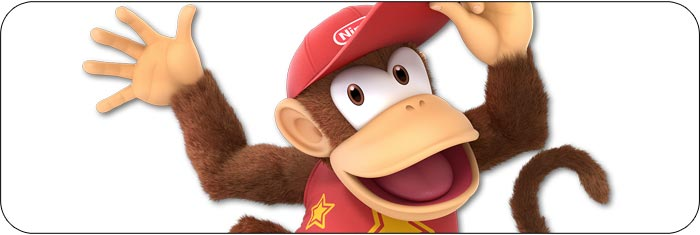 Diddy Kong Super Smash Bros. Ultimate artwork