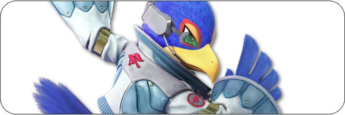 Falco Super Smash Bros. Ultimate artwork