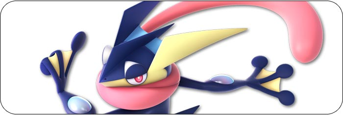 Greninja Super Smash Bros. Ultimate artwork