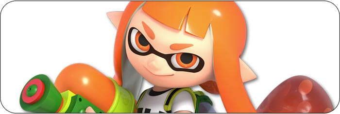 Inkling Super Smash Bros. Ultimate artwork