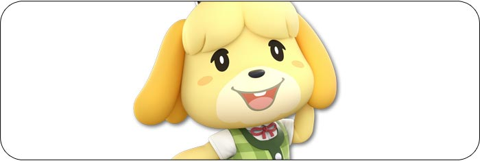 Isabelle Super Smash Bros. Ultimate artwork