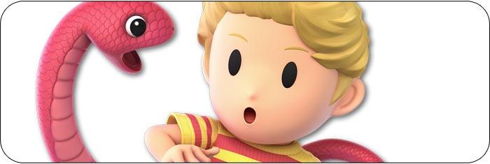 Lucas Super Smash Bros. Ultimate artwork
